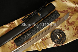 Wholesale Full Tang Blade Pine Crane Tsuba Japanese Sword