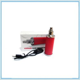 Shenzhen factory direct price e cig battery 4500 rechargeble battery 4500 mAh e cig adjustable voltage battery
