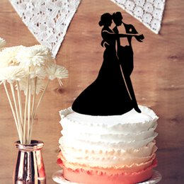 Mr & Mrs Wedding Cake Topper, Dancing Couple Wedding Cake Topper - Cake Topper for Party Decor or Wedding Decor