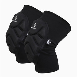 Wholesale Waterproof Breathable Mesh Knee Supports Plastic Air Diversion Design Adjustable Warm Crashproof Unisex Cycling Knee Pads