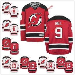 Wholesale 2016 NHL Ice Hockey New Jersey Devils Jerseys Taylor Hall Stephen Gionta Michael Cammalleri Adam Henrique