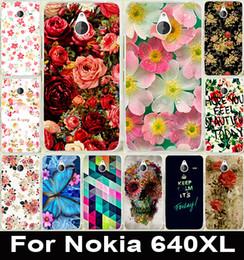 Wholesale Al por mayor Hermoso Brillante caso de la cubierta PC dura linda rosa peonía flor de la moda pintado para Microsoft Nokia Lumia XL caso del XL Capa