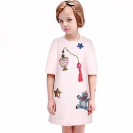 Wholesale Wl Monsoon Baby Girl Dress Summer Kids Clothes Designer Sleeveless Kids Dresses for Girls Clothing Children Winter Dresses