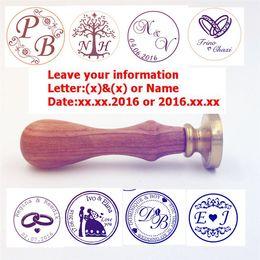 Wholesale-customize Wax Seal Stamp logo Personalized image custom sealing wax sealing stamp wedding Invitation Retro antique stamp custom