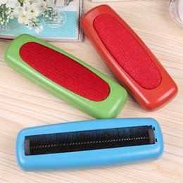 Wholesale Sweeper Carpet Table Single Dust Brush Dirt Crumb Collector Cleaner Roller Tools Random Colors
