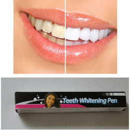 Wholesale 2016 Hot Teeth Whitening Pen Carbamide Peroxide Gel Soft Brush Applicator For Tooth Whitening Dental Care Whitener Gel ml