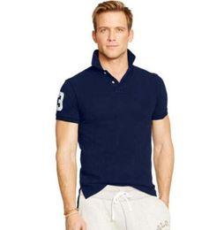Wholesale 2016 Big horse brand polos shirt men shirts short sleeve casual style masculina camisetas sportswear for ralph men shirts