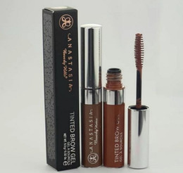Wholesale Eyebrow Gel Waterproof Eye brow Mascara Cream Dye Eye Brow Tint Makeup Set Kit Long Lasting Brown Gel g