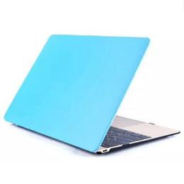 2017 macbook shell 13 PU cuir peau + PC en plastique Housse de protection Shell pour Macbook Air Pro 11 12 13 15 pouces Laptop Cases caoutchoutées de Retail Box abordable macbook shell 13