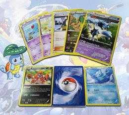 Wholesale Poke Trading Cards Games Newest Edition XY English Anime Pocket Monsters Cards Toys Children Card Toys