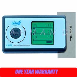 Solar Film Transmission Meter LS160 Portable Solar Film Tester measure UV Visible and Infrared transmission values