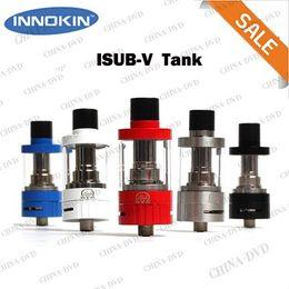 Wholesale 100 Original Innokin iSub V TC Tank ml Airflow Control iSubV Vortex Atomizer No Spill Coil Swap Vaporizer System Fit Cool Fire IV TC W