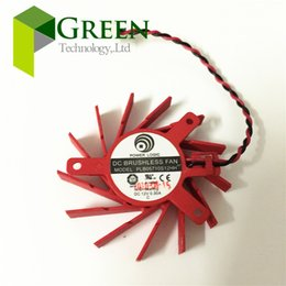 Wholesale New The original POWER LOGIC DC12V A for ATI HD5550 V4800 Graphics Card Fan PLB05710S12HH Cooling Fan with pin