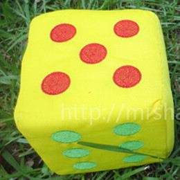 Large Size 12cm Cotton Cloth Sponge Dice Funny Family Games For Party Games Toys Educational Dices Entertainment Toy High Quality #S27