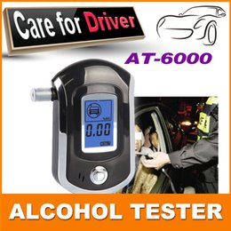 Wholesale Professional Alcohol Breath tester alcohol detector breather alcohol test analyzer AT