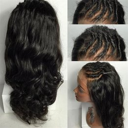 Full Lace Human Hair Wigs Peruvian Human Hair Lace Front Wig 130% Natural Black Color Human Hair Wigs For Black Women