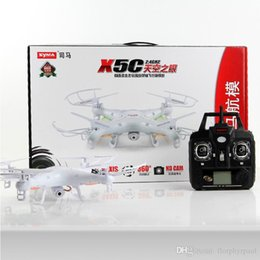 Wholesale Best selling products Quadcopter drone with led light plastic model kits