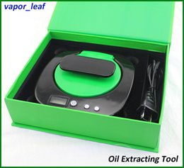 Wholesale Best quality oil extractor with temperature control function easy to use time saving wax hemp oil extractor machiine