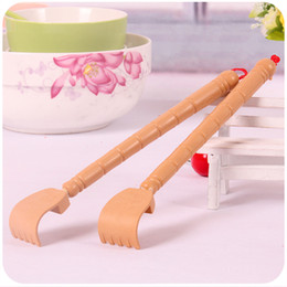 Wholesale Healthy wood Stretching Scratching Do not ask for massager Massage hammer Massage stick Promotional gifts