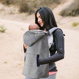 Wholesale Baby cotton Carrier Velvet Warm Cape Cloak Winter Cover Wind Necessary Carrying Children Cloak infant carrier baby suspenders