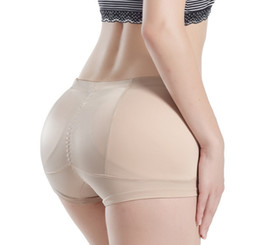 Women's False Butt Pads Panties Lace Low Waisted Briefs Body shaping padded Fake Ass Knickers Plump Hip Buttock Breathable