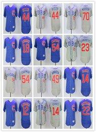 Wholesale 2016 MLB jerseys Chicago Cubs Anthony Rizzo Stitched jerseys Ernie Banks jerseys Addison Russell elite jerseys Size