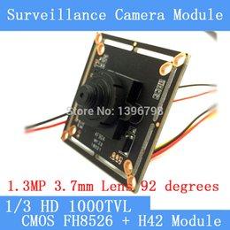 Wholesale 3 mm Mini Pinhole camera HD quot CMOS image sensor TVL CCTV night vision camera module chip board with