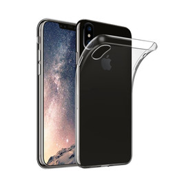 Soft TPU Transparent Protector Clear Silicone Case for iPhone X 8,Lightweight Crystal Flexible Cover for Iphone 7 6s Samsung Galaxy S8 Note8