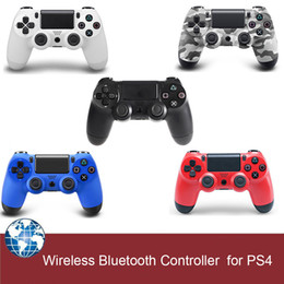 for ps4 controller wireless bluetooth gamepad game controller for PS4 with touch pad 5 colors with retail box free drop shipping