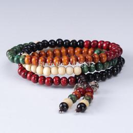 Colorless sandalwood bracelet health beads bracelet wood round charm bracelet