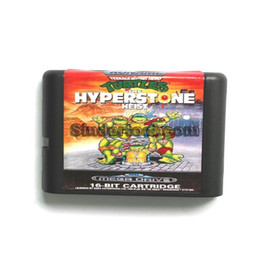 Wholesale DC MD SS SEGA Memery Cards Teenage Mutant Ninja Turtles The Hyper Stone Heist bit MD Game Card For Sega Mega Drive For Genesis