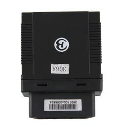 Descuento dispositivos anti-robo de coches TK306A OBD Auto Car Tracker GPS antirrobo del vehículo resistente al agua dispositivo de localización GPS Localización precisa de seguimiento en tiempo real