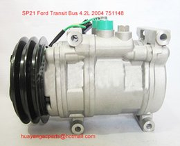 Wholesale SP21 car air conditioning compressor pump PN Ford Transit Bus
