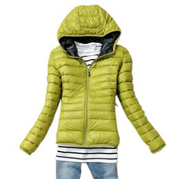 Wholesale-Winter Autumn Women Long-Sleeved Parkas Jacket Cotton Short Coat Casual Down Cotton Wadded Coat Women Parkas Keep Warm