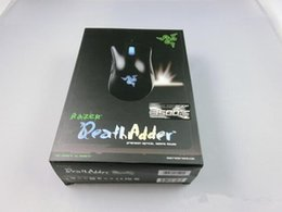 Wholesale Razer DeathAdder OEM Version Upgraded Gaming mouse dpi Brand New laptop Game mouse Factory Price Blue light wired usb mouse