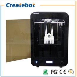 Double filament à vendre-2016 Le plus récent Createbot MAX 3D imprimante kit écran LCD double imprimante extrudeuse impression 3d 1 rouleau filament carte SD 8 Go comme cadeau