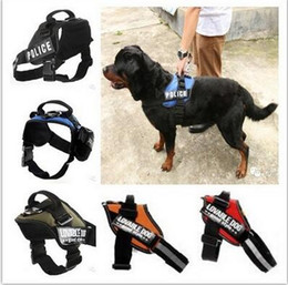 Wholesale Dog Collars Leashes Pet Dog Doggie Puppy Leashes Lead Harness Belt Rope Chest Professional Back Protect for Big Dogs