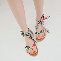 The 2016 summer romantic beach style silk lace flat shoes