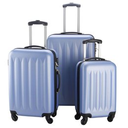 Wholesale Trolley Suitcase New Luggage Travel Set Bag ABS