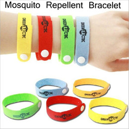 Wholesale 10pcs Hot sale Mosquito Killer Repellent Bracelet Mosquito Bangle Wrist For Baby Adult Protector best gift