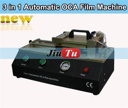 Wholesale CellPhone Repair Machine Built in Vacuum Pump Air Compressor in Automatic OCA Film Machine LCD Screen Polarizer OCA Laminating