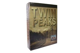 Wholesale HOT DVD US Version TV series DVD Twin Peaks Complete Series Definitive Gold Box Edition New free DHL ship