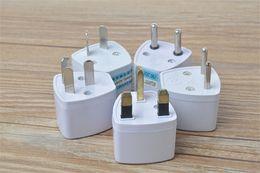 Wholesale Universal Travel Power Plug Adapter Adaptor US EU UK AU Standard Plug AC Power Converter Head Connector Wall Socket Jack