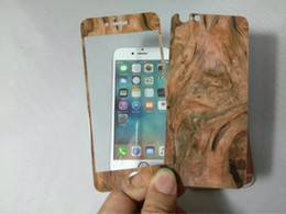 Wholesale Wood Wooden Bamboo Tempered Glass For Iphone SE S S plus Basketball Team Full Body Coverage Screen Protector Guard Skin Package