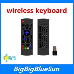 Wholesale Best Price And Top Selling MX3 g Wireless Mini Keyboard Mini Air Mouse Game Keyboard