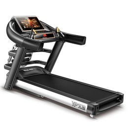 Wholesale 15 quot Color Screen commercial Flagship Motorized Treadmill Multi function treadmill commercial treadmill home treadmill