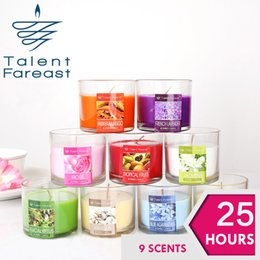 Wholesale 25 Hours Scented Candles Conicle Candle With A Variety Of Fragrance Aroma Paraffin Wax Aromatherapy Candles Product Code