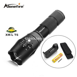 G700 LED Flashlight ZOOM CREE 2000LM Waterproof Lanterna E17 LED 5Modes Zoomable Torch Flashlight Linterna led+18650 battery+charger+Holster