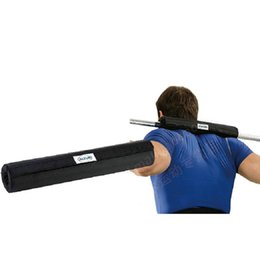 Wholesale Foam barbell support bar Weight lifting exercise tool Altus design EVA cylinder gym sport training equipment