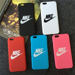 Wholesale 2016 new arrival iphone plus cover s s protector back cover case popular nike pc case for apple iphone